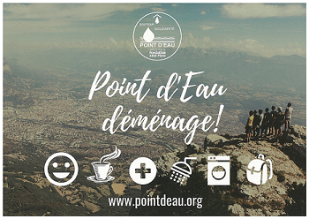 Flyer de demande de dons de Point d'eau 2019
